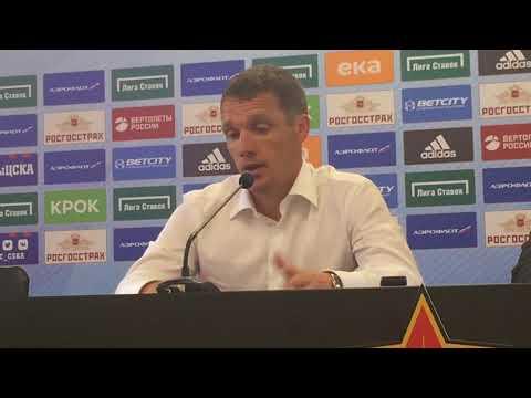 Виктор Гончаренко: Щенников делает много правильных вещей, у нас начинают работать оба фланга