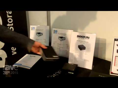 ISE 2015: Boston Presents their Wide Range of Digital Signage Players