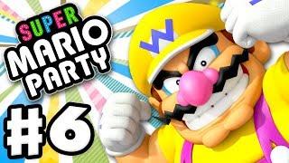 Super Mario Party - Gameplay Walkthrough Part 6 - River Survival with Wario! (Nintendo Switch)