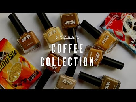 *New* Nykaa Coffee Collection - Swatches, Review & Dupes (Hindi) | Ankita Swarnkar