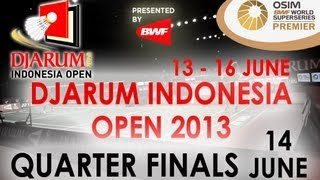 QF - MD - M. Ahsan/H. Setiawan vs Cai Y./Fu H.- 2013 Djarum Indonesia Open