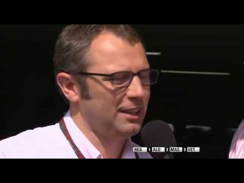 Stefano Domenicali interview after the race - German GP 2010