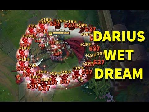 FULL AD DARIUS!! INSANE DAMAGE + 1500 TRUE DAMAGE! [ League of Legends ]