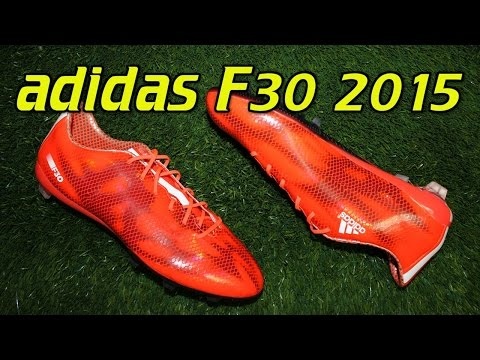 Adidas F30 2015 Solar Red - Review + On Feet