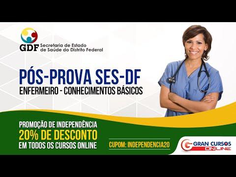 Pós Prova Ses df - Cargo Enfermeiro - Ao Vivo video