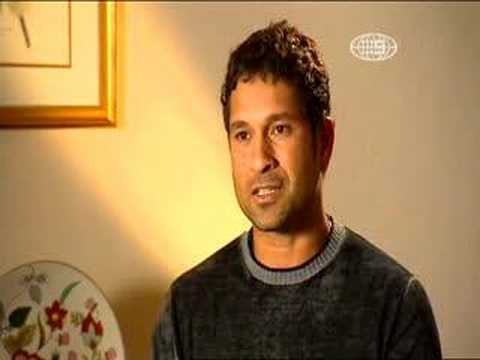 Great Sachin Tendulkar's one & only interview -- PART I