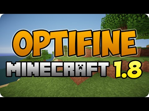 DESCARGAR OPTIFINE PARA MINECRAFT 1.8