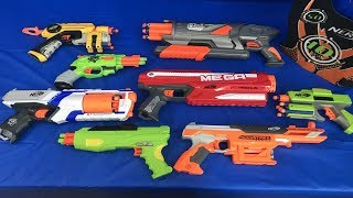 Lots of Toy Blasters for Kids Nerf Blasters Box of Toy Weapons