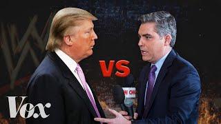 How Trump wins press conferences