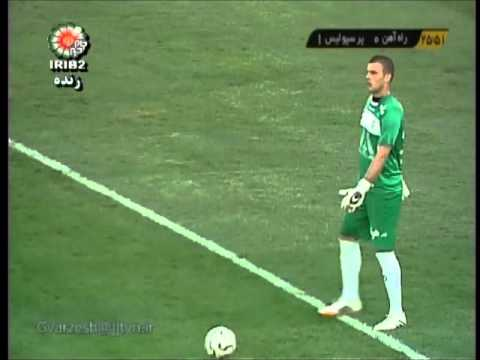 Rahahan Tehran vs Perspolis Tehran IPL Round09 2014-15 Season