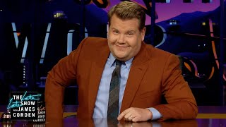 James Corden's Eye Kept Him from the Critics' Choice