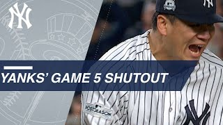ALCS Gm5: Masahiro Tanaka and Tommy Kahnle combine for Game 5 shutout