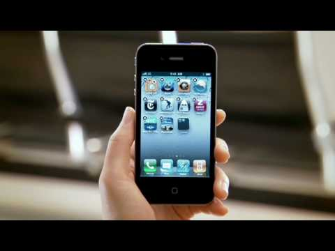 The new design of the iPhone 4