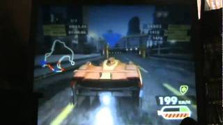Need For Speed Nitro - carrera por equipos