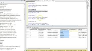 SQL-XML BASIC Part 1
