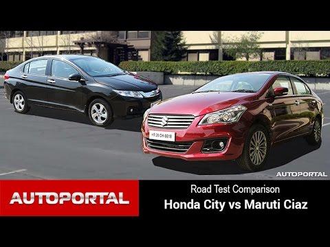 Comparison - Honda City Vs Maruti Suzuki Ciaz - Autoportal