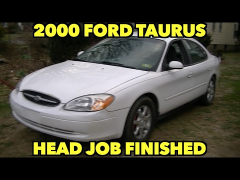 Ford Taurus...finishing up head job...Some of my story.