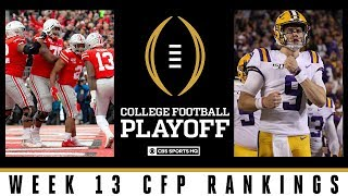 College Football Playoff Rankings: Ohio State jumps LSU for  #1 spot in new top 25 | CBS Sports HQ