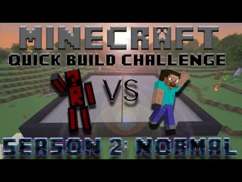 Minecraft Quick Build Challenge - Topic Hint: Combat!