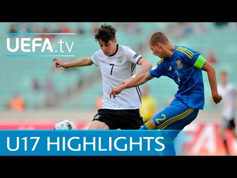UEFA Under-17 highlights: Ukraine 2-2 Germany
