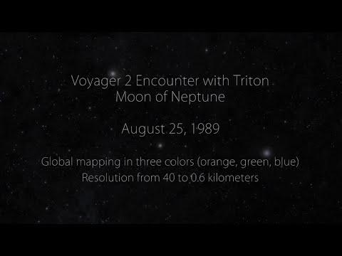 VOYAGER 2 AT TRITON