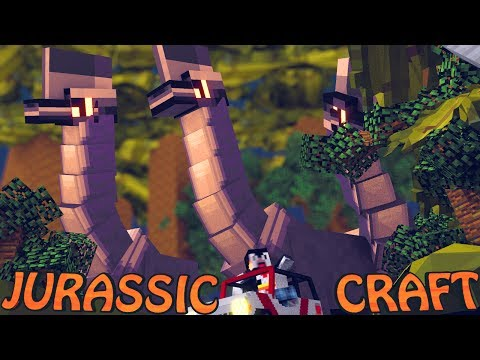 Minecraft Dinosaurs | Jurassic Craft Modded Survival Ep 4!