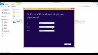 Windows 8.1 Format Flash Diski Oluşturma