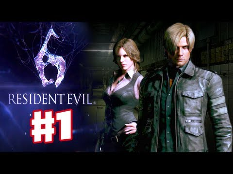 Resident Evil 6 - Leon Gameplay Walkthrough Part 1 (Co-op)