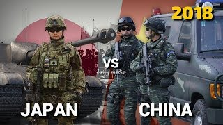 Japan vs China - Military Power Comparison 2018
