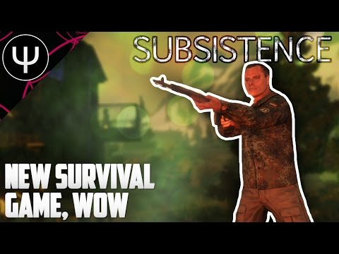 Subsistence — First Look — NEW Survival Game, Wow!