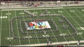 "Ohio State Marching Band ""TV Land"" - Halftime vs. Virginia Tech: 9-6-14"