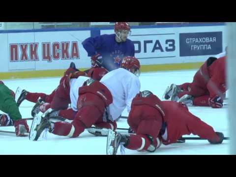 «Красная Армия»: за день до полуфинала Кубка Харламова
