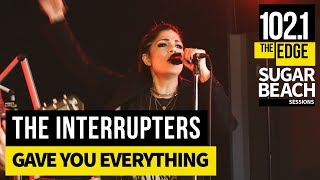 The Interrupters - Gave You Everything (Live at the Edge)