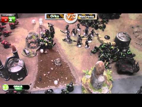 Orks vs Necrons Warhammer 40k Battle Report - Waaagh! Batrep Ep 4 - Part 3/7
