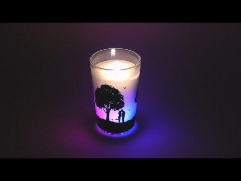 Ароматизированная свеча мастер класс