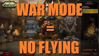 "Bajheera - BFA Feedback: ""WAR MODE = NO FLYING!!!"" - WoW Battle for Azeroth PvP Discussion"