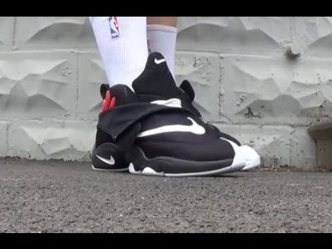 Nike Flight Gary Payton The Glove Sneaker Review + On Feet W/ Dj Delz @DjDelz