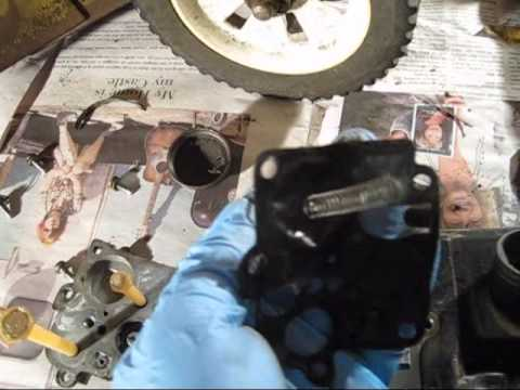 Briggs & Stratton 3.5HP Quick carburetor clean