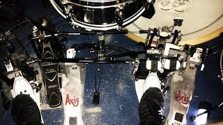 Double Pedal Axis Al2 vs Tama Iron Cobra vs Pearl p1002
