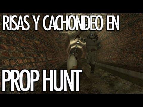PROP HUNT: Risas y Cachondeo con WillyRex, AlexBY, StaXx, Vegetta, Sarinha y Serpiente - [LuzuGames]