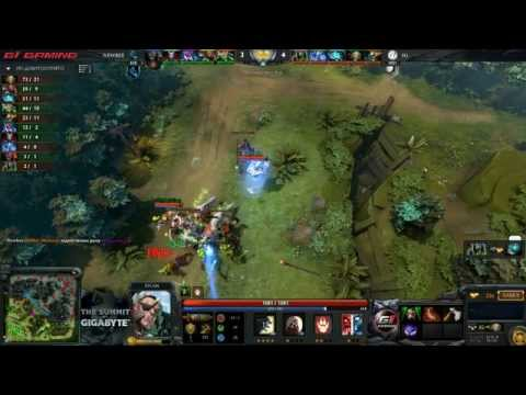 IG -vs- NewBee, The Summit 3 China Phase 2, LB Semifinal, game 1