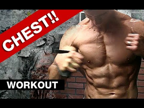 Complete Chest Workout - 5 Chest Exercises (jacked!) video