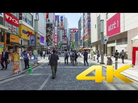 Walking around Akihabara - 秋葉原 - 4K Ultra HD