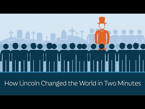 How Lincoln Changed the World in Two Minutes