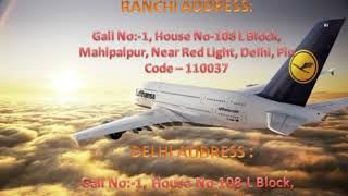 Low Cost and Well Equipped Vedanta Air Ambulance Services from Ranchi to Delhi