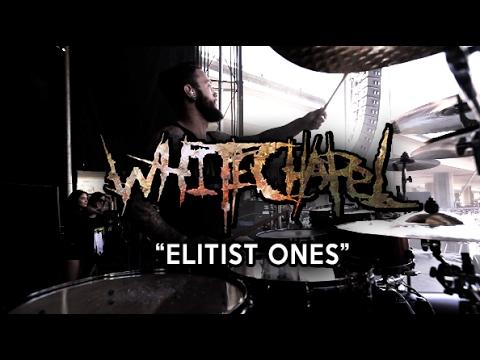 Whitechapel | Elitist Ones | Drum Cam (LIVE) thumbnail