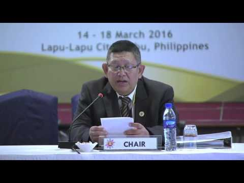 Opening Statement by Mr. Win Kyi, DDG, Radio Television, Myanmar, Ministry of Information 3/15/2016