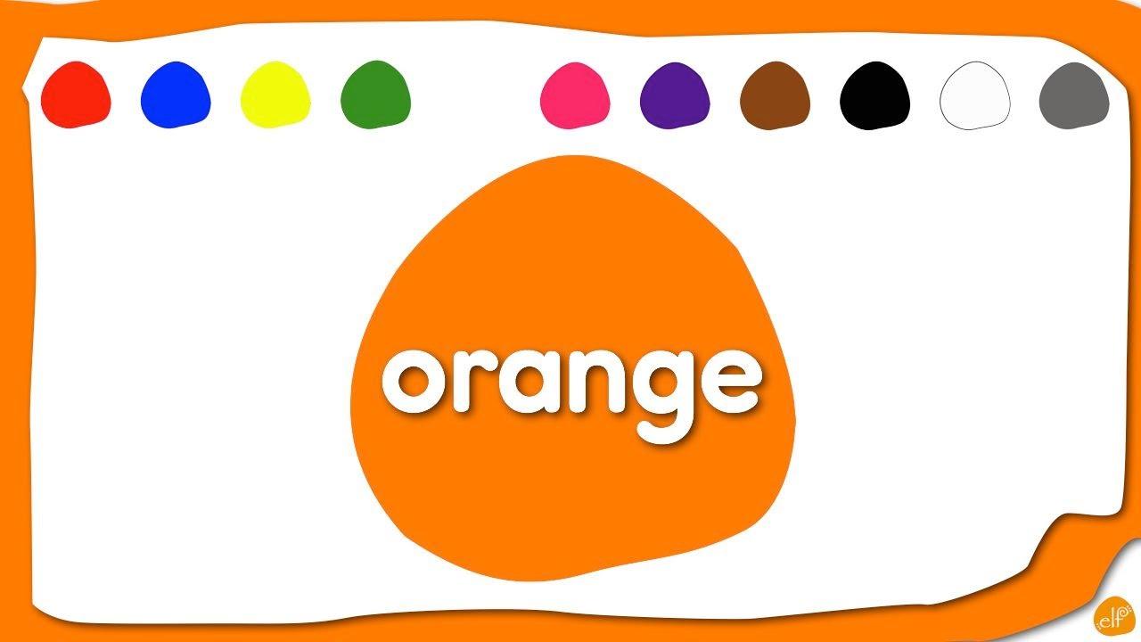 Orange Song For Kids