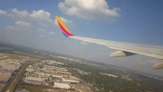 Southwest airlines: take off from San Antonio Texas