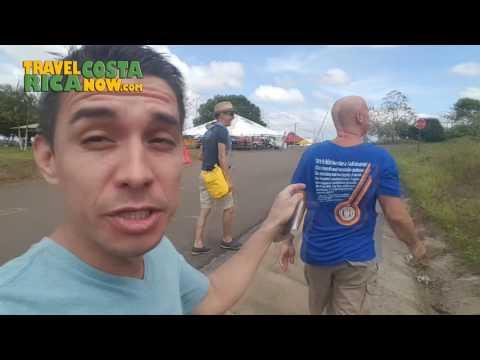 Costa Rica to Nicaragua Border Crossing